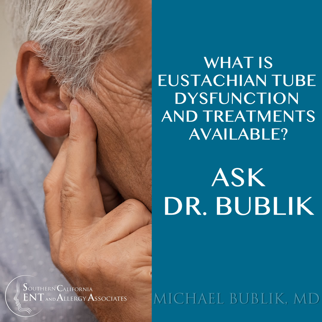Eustachain Tube Dysfunction