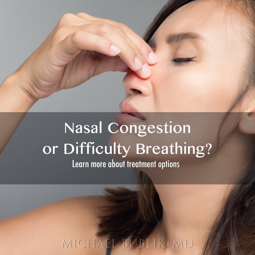 Nasal Congestion Treatment Los Angeles