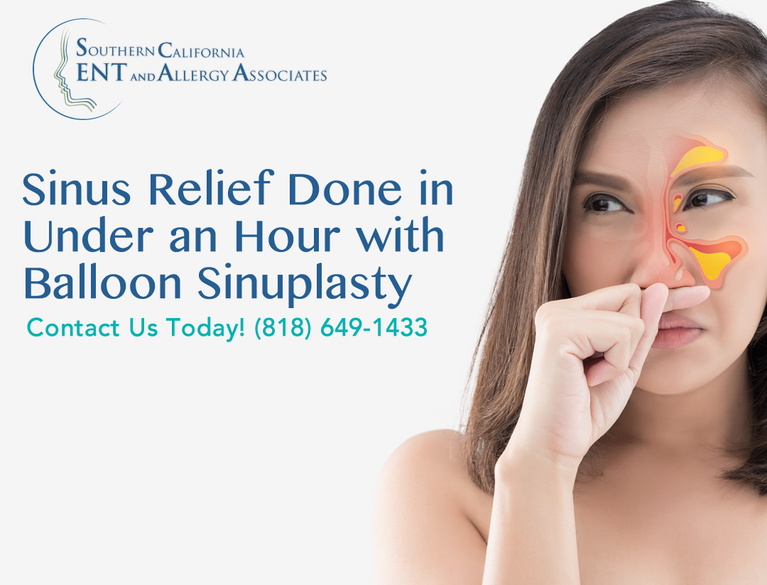 Sinusitis Relief Los Angeles